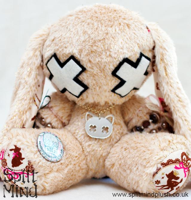 Dos Beige Bunny by splitmindplush