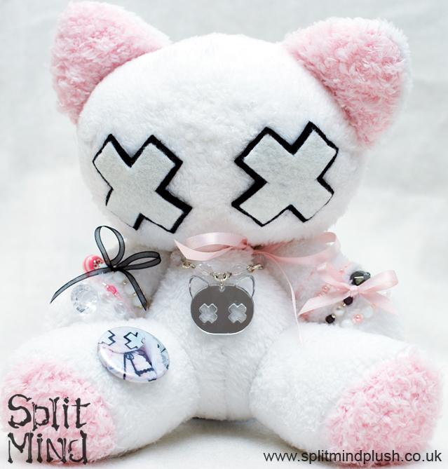 Bow Kitten by splitmindplush