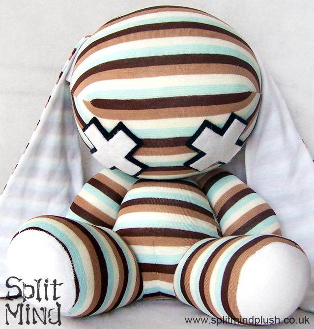 Turquoise Bunny by splitmindplush