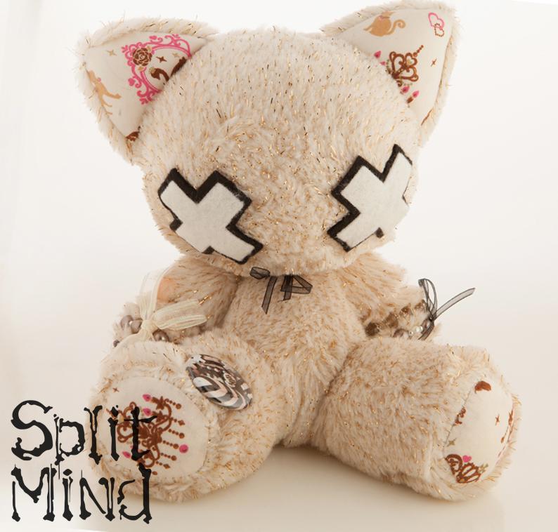 Cream Kitten by splitmindplush