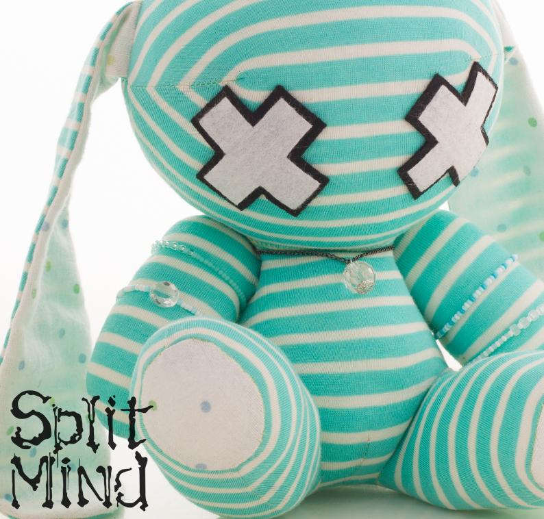 Mint Bunny by splitmindplush