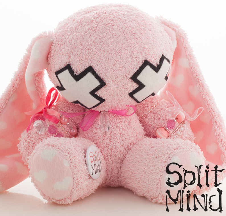 Rose Bunny by splitmindplush