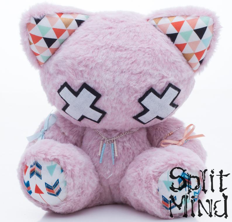Lilac Kitten by splitmindplush