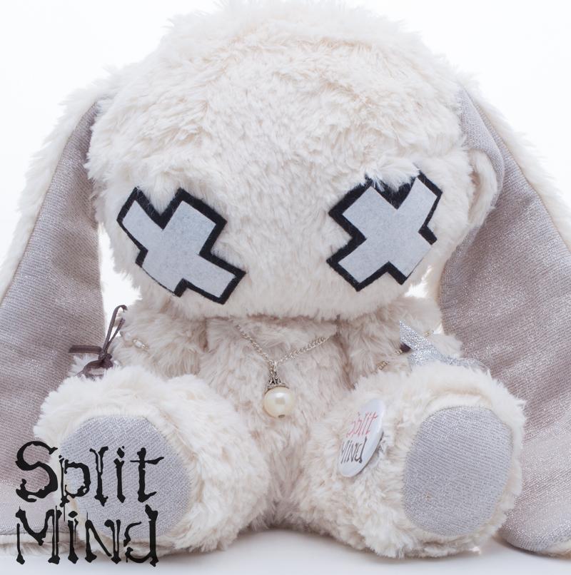 Pearl Bunny by splitmindplush