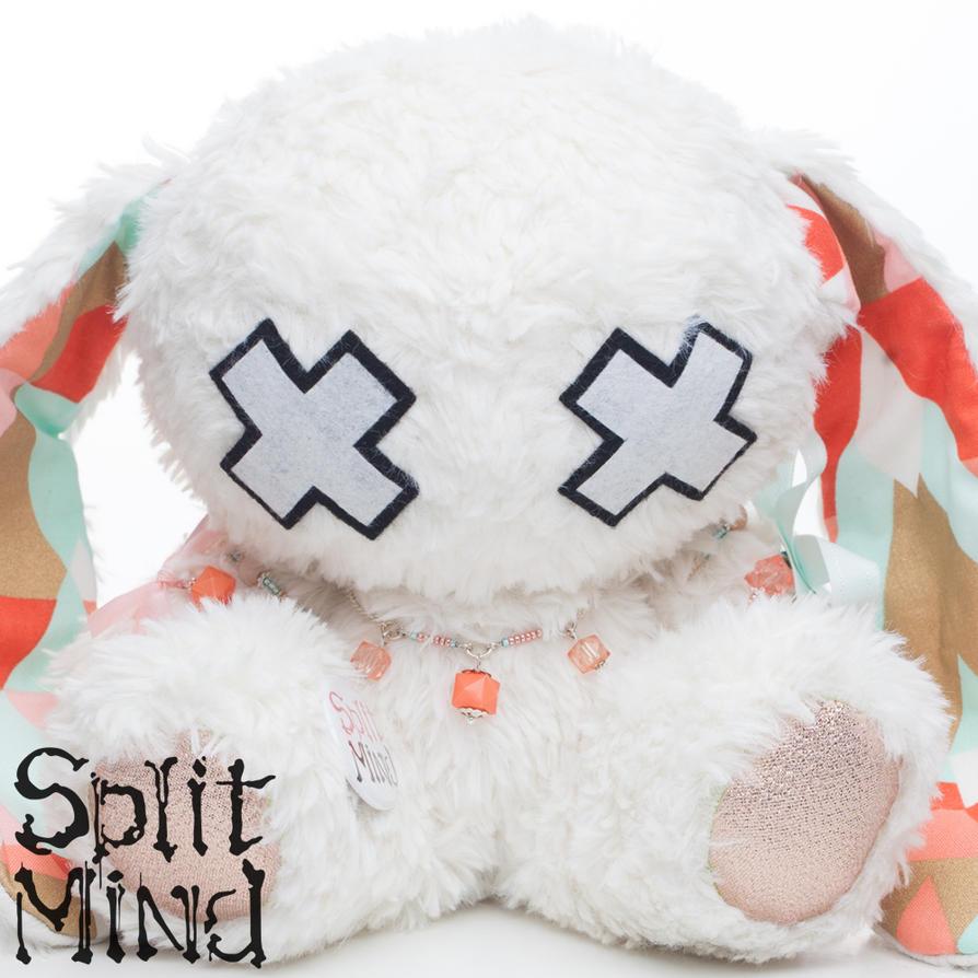 Coral Bunny by splitmindplush