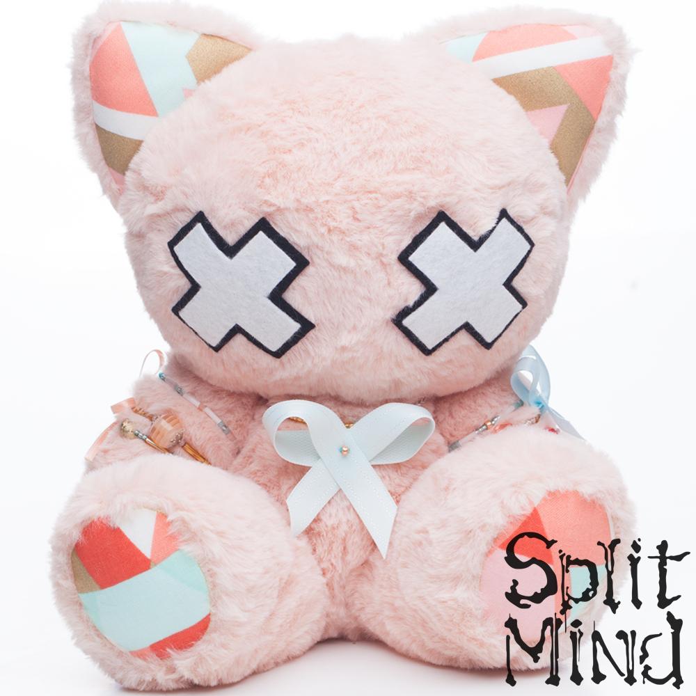 Orange Kitten by splitmindplush