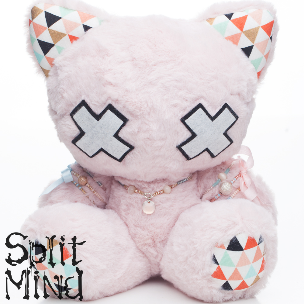 Blush Pink Kitten by splitmindplush