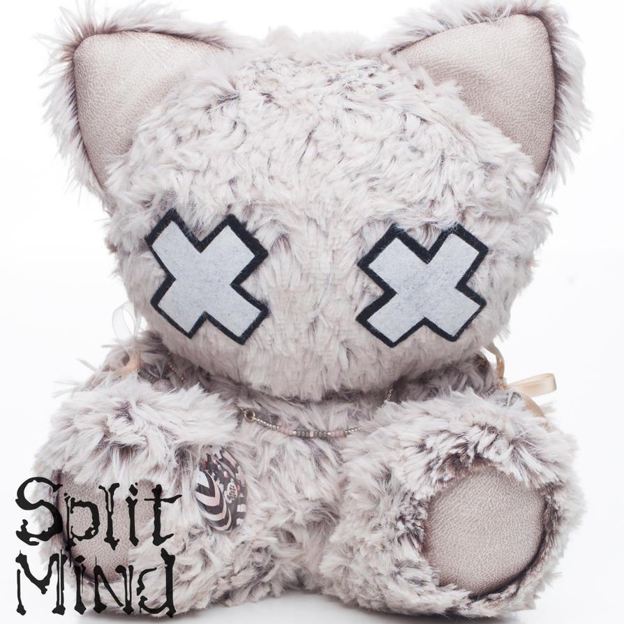Latte Kitten by splitmindplush
