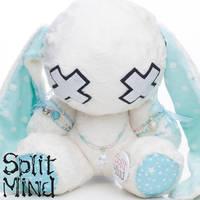 Polka Dot Bunny by splitmindplush