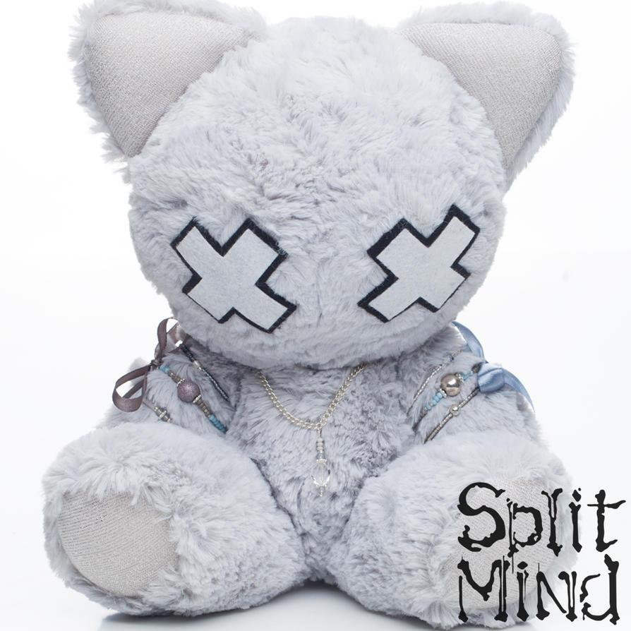 Powder Blue Kitten by splitmindplush