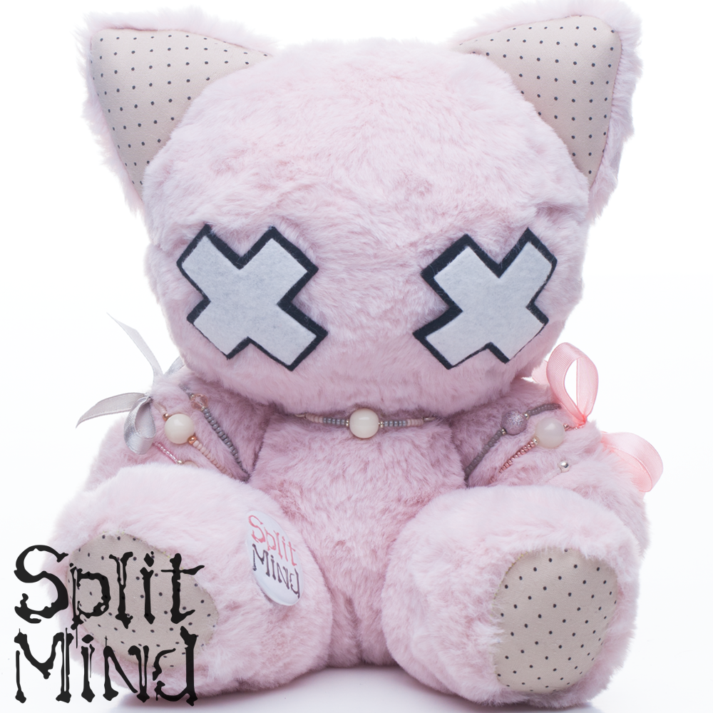 Rose Kitten by splitmindplush