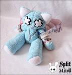 Dead Cat Plush by splitmindplush