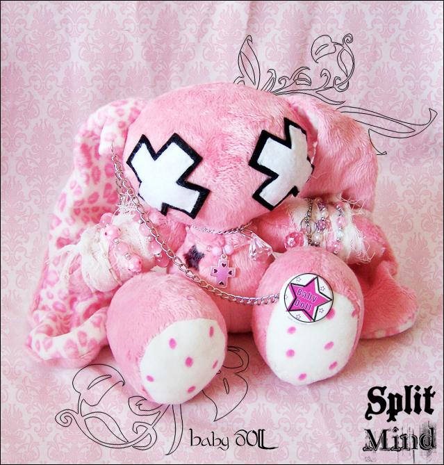 Baby Doll Bunny by splitmindplush