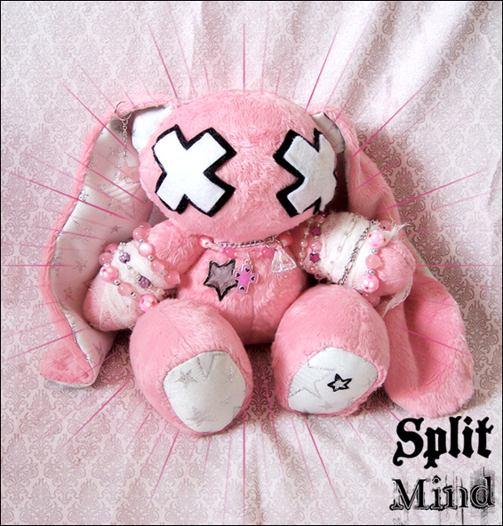 Star Doll Bunny by splitmindplush