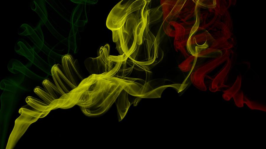 weed smoke art wallpaper - photo #37