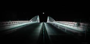 MOON OVER THE BRIDGE.