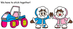 Super Kart Bros: Ice Climbers