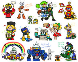 Mega Man Art Dump