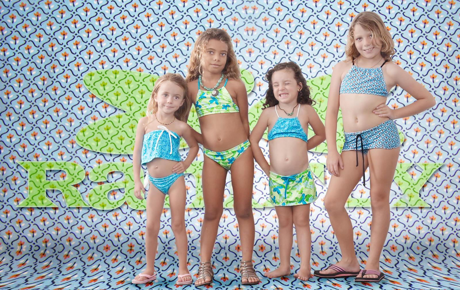 Ranifly Bikini Kids by emilyrosecaspe