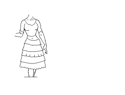 Basic Model skirt by OutofForced-Presence