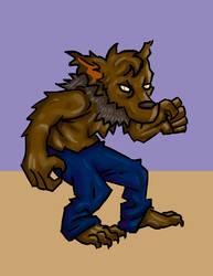 El lobo bailaor by Axolote