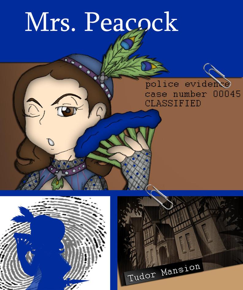 Mrs peacock clue