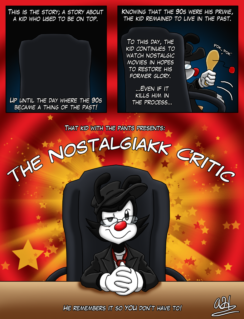 Contest - Nostalgiakk Critic by SonicandShadowfan15