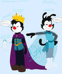 Animaniacs Frozen AU - King Yakko Concept design