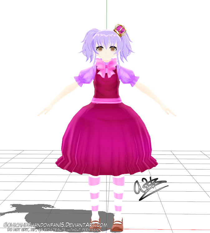 Emily magical girl form by SonicandShadowfan15