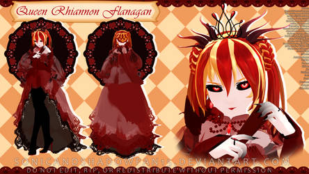 [DEMON CONTEST ENTRY] Queen Rhiannon Flanagan by SonicandShadowfan15