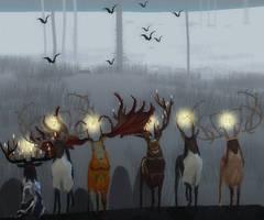 TEF Foggy wallpaper by QuadRaptor