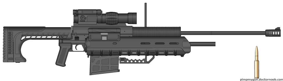 SRS99D-S2 Sniper Rifle System by Chris000