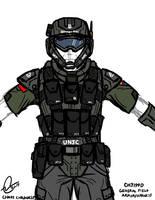 CH3199D Marine Armor by Chris000