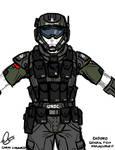 CH3199D Marine Armor