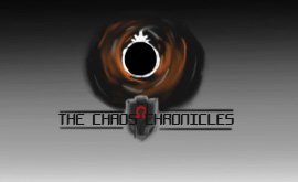 Chaos Chronicles: Logo Initial Idea Sketch by Chris000
