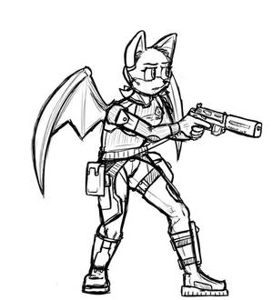 Agent Rouge 2020 Sketch