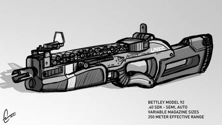 Bettley Model 92 SMG