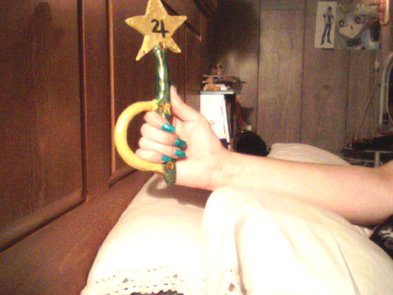Sailor Jupiter Transformation Wand #2 by SupernovaSword