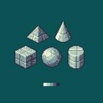 Stone block texture study by BadFoxLab