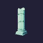 Underwater pillar