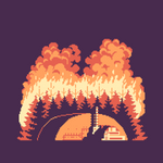 Chernobyl - Red Forest wildfire [WIP]