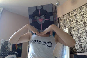 Human Weighted Companion Cube