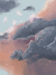 Clouds by LiteralBanana
