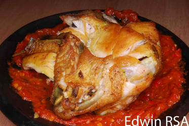 Ayam Penyet by End4000