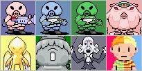 Mother 3 Icon Collection 3 by Minmin-Sama