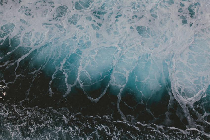 Angry sea by weaverglenn