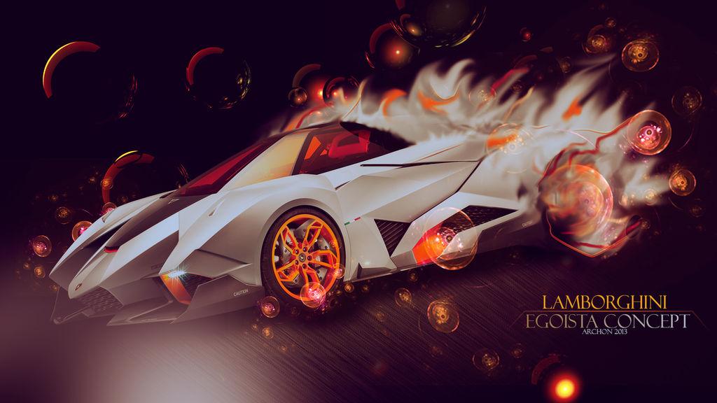 Lamborghini Egoista Concept By Prototype Da On Deviantart
