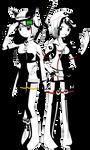 Naluri and Rokiahi: Bright Sisterhood by dra2k4