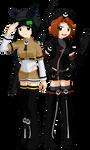 Naluri and Rokiahi: Vibrant Sisterhood by dra2k4