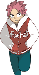 Foxhat Jacket Natsu by theFoxHat